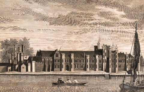 Palace of Placentia during Tudor times