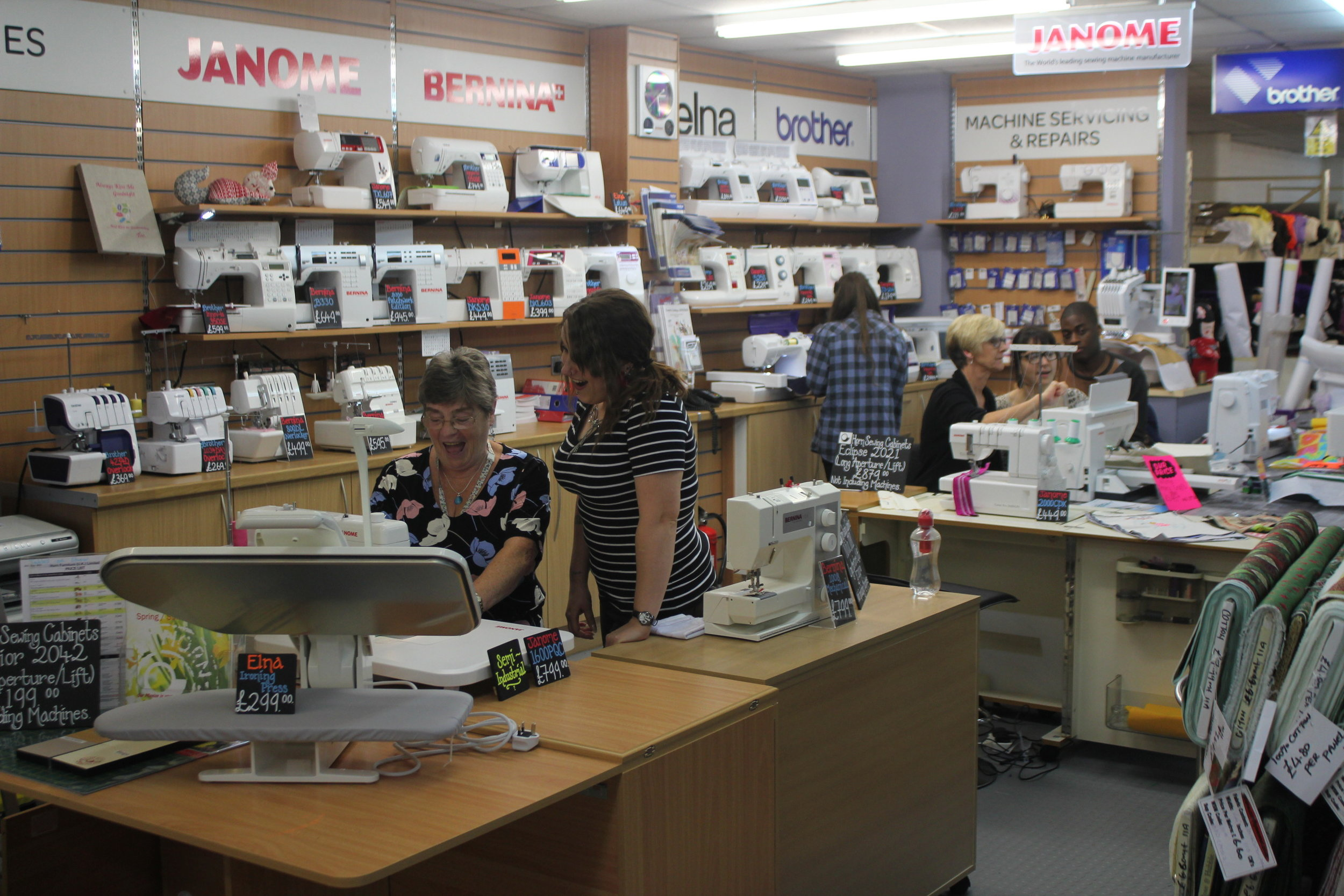Sewing and Craft Superstore Haberdashery and Fabric Shop in Balham South London Club Card 2.JPG