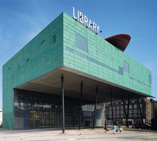 Peckham Library won the Stirling Prize for Architecture in 2000