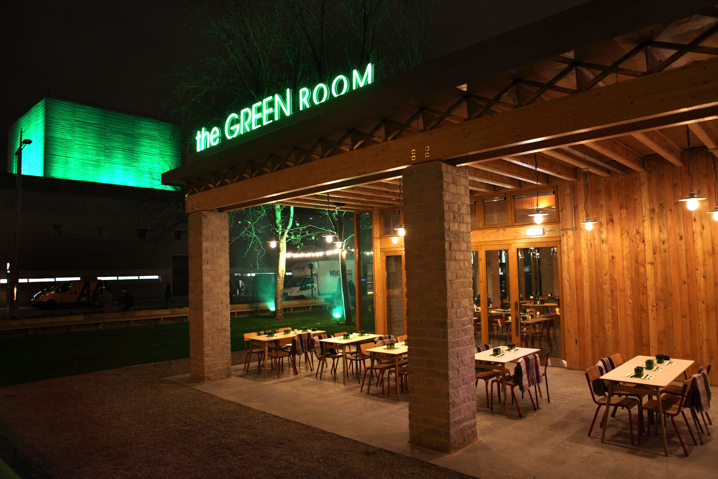 Green Room SE1 Restaurant and Bar in Waterloo South London Club Card 6.JPG