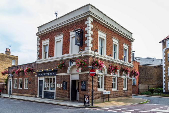 The Dutchy Arms pub and kitchen in Kennington South Central London Club Card .jpeg