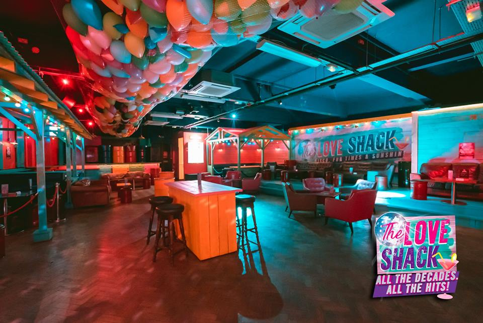 The Love Shack Night Club and Bar in Lewisham South East London Club Card .jpg