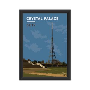 Crystal Palace Transmitting Station Giclée Art Print