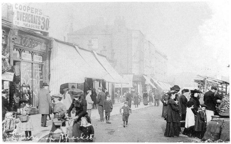 Lewisham Market 1903 (Ideal Homes: A History of South-East London Suburbs)