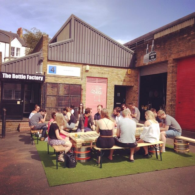 The London Beer Factory brewery bar and taproom in Crystal Palace South East London 3.jpg
