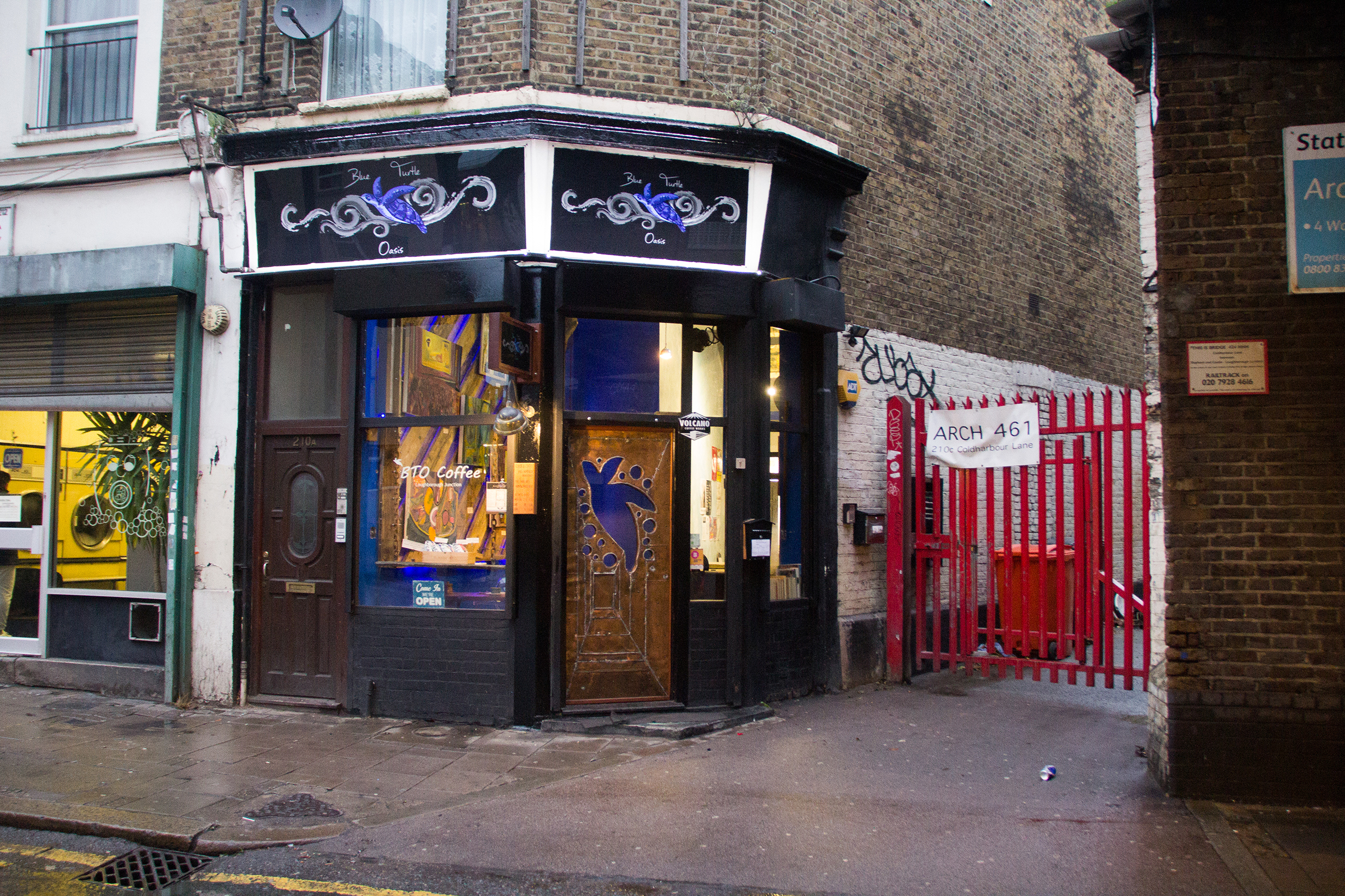 Blue Turtle Oasis Cafe and Venue in Loughborough Junction 4.jpg
