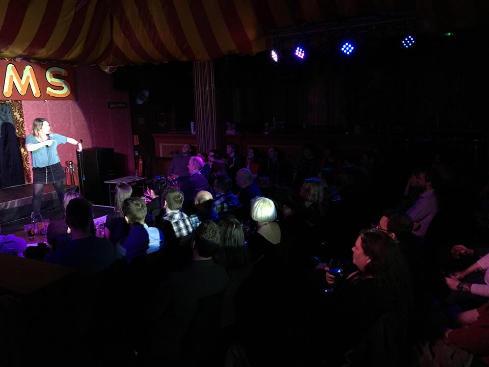 Laugh Train Home Comedy Club in Honor Oak South East London Club Card 5.jpg
