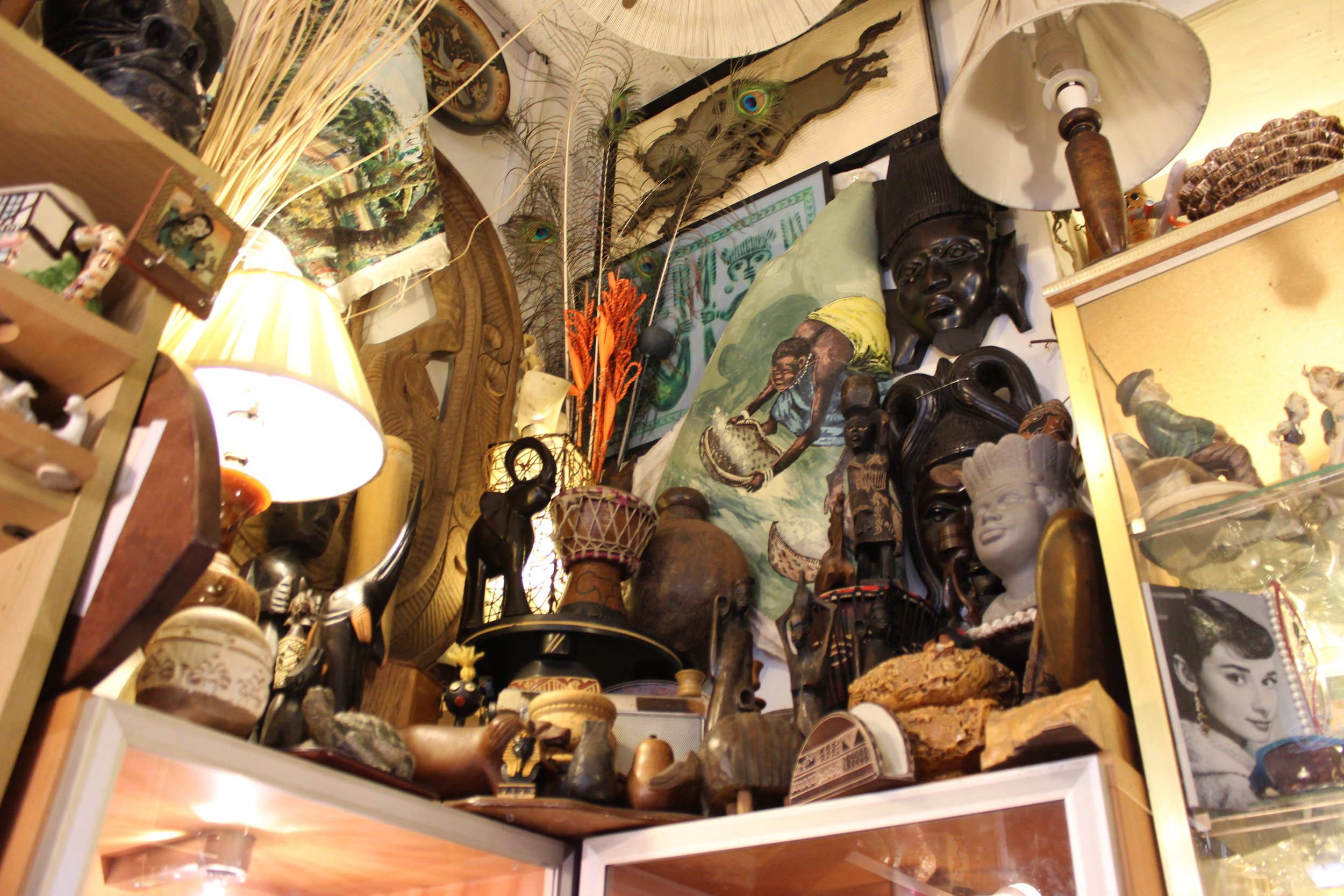 Ecelctica Bric a brac records collectibles and antiques shop in battersea South West Lonodn Club Card 7.jpg