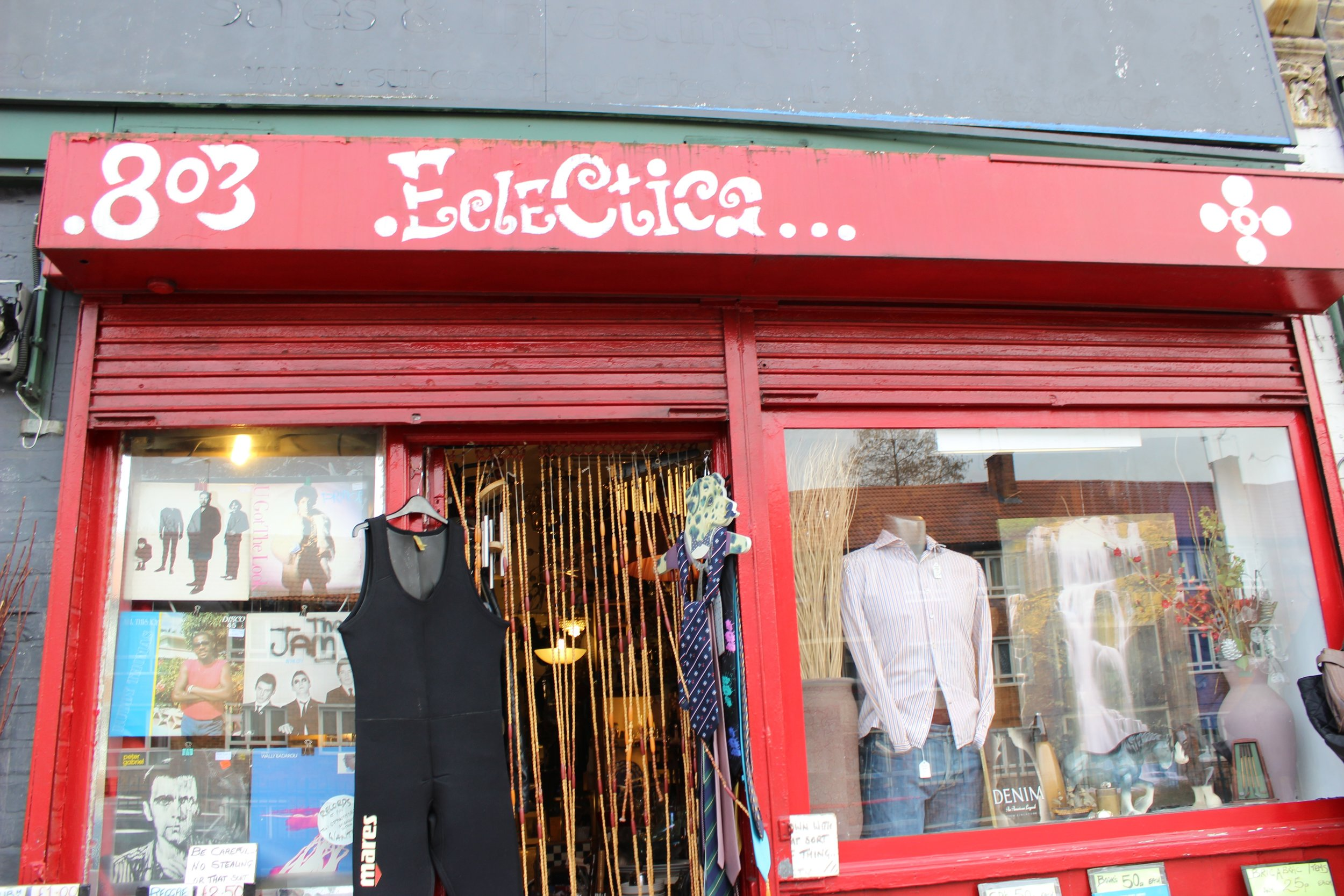Ecelctica Bric a brac records collectibles and antiques shop in battersea South West Lonodn Club Card 8.jpg