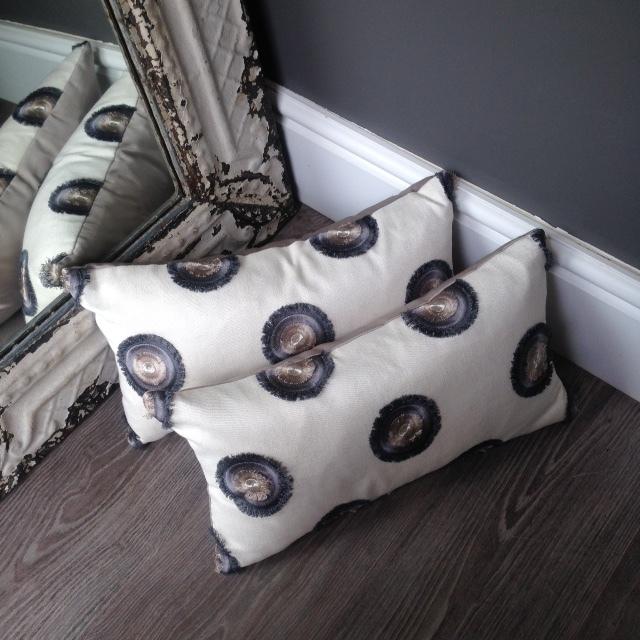 The London Cushion Company bespoke cushions in Battersea South West London Club Card 25.JPG