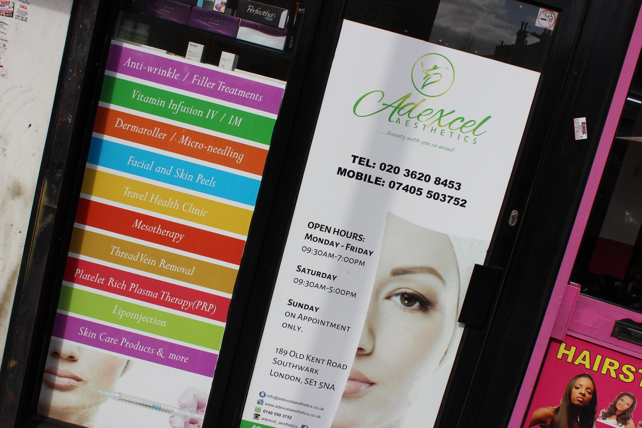 Adexcel Aesthetics Beauty Clinic in Bermondsey South East London Club Card 15.jpg