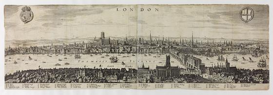 Wenceslaus Hollar's panorama of London
