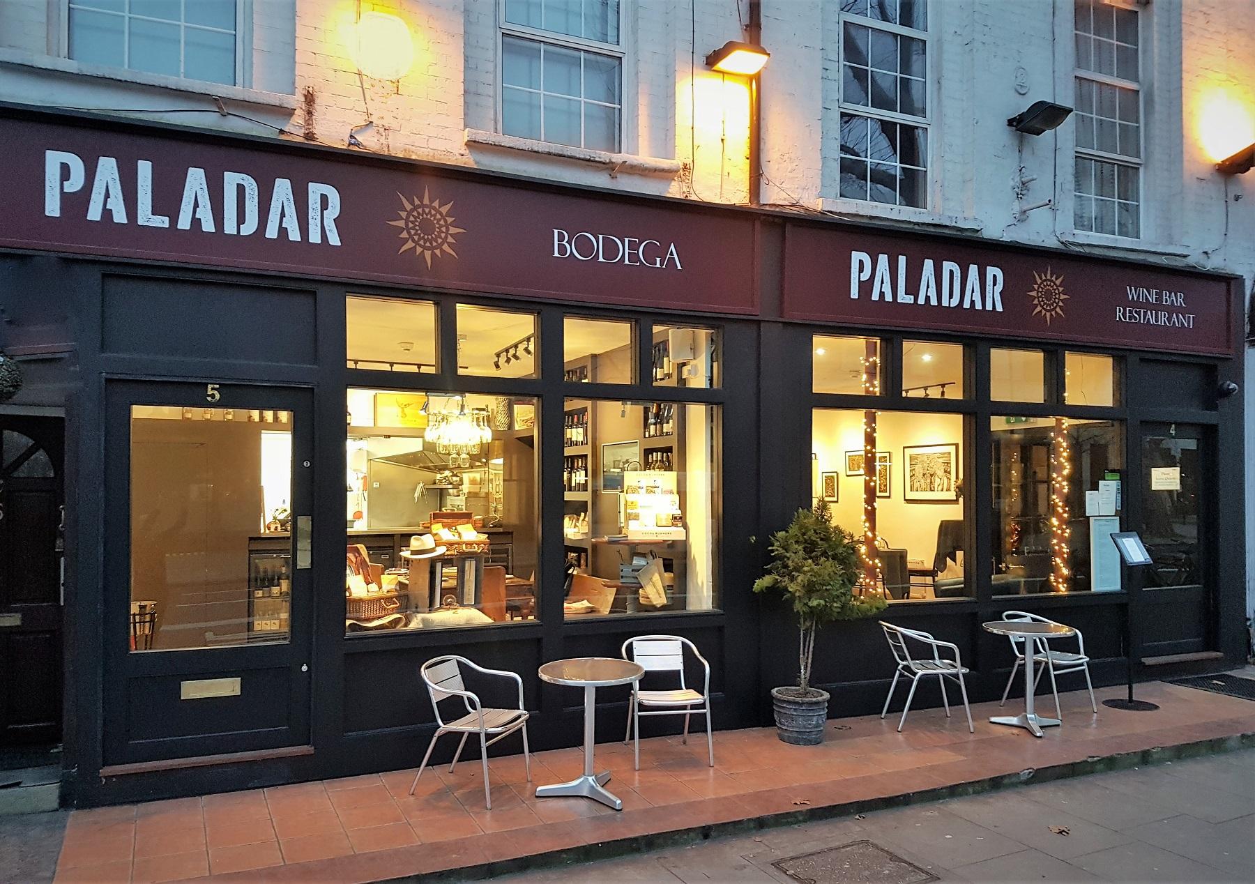 Paladar Latin American Restaurant in Elephant and Castle South East London Club Card 8.jpg