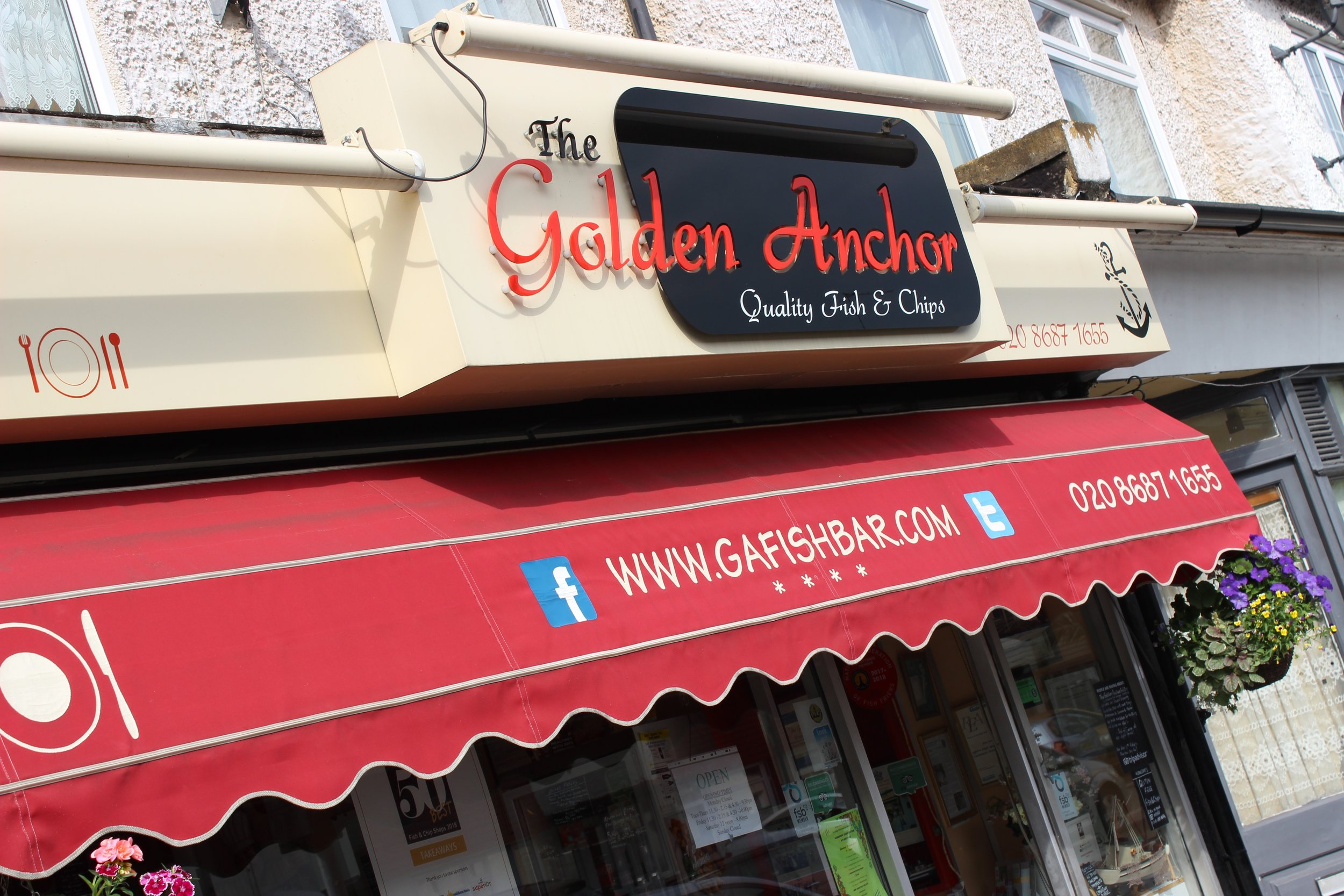 The Golden Anchor Fish & Chip Shop in Mitcham South West London Club Card 4.jpg