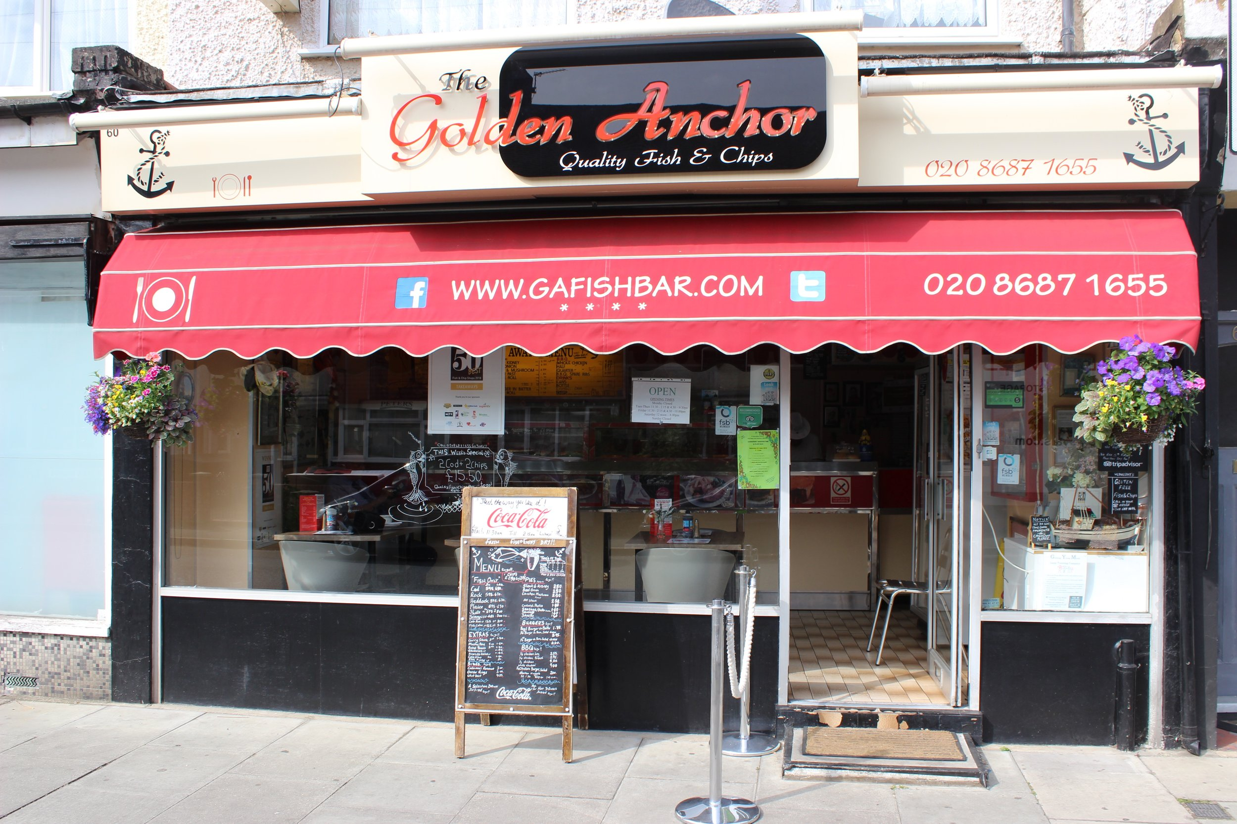 The Golden Anchor Fish & Chip Shop in Mitcham South West London Club Card 5.jpg