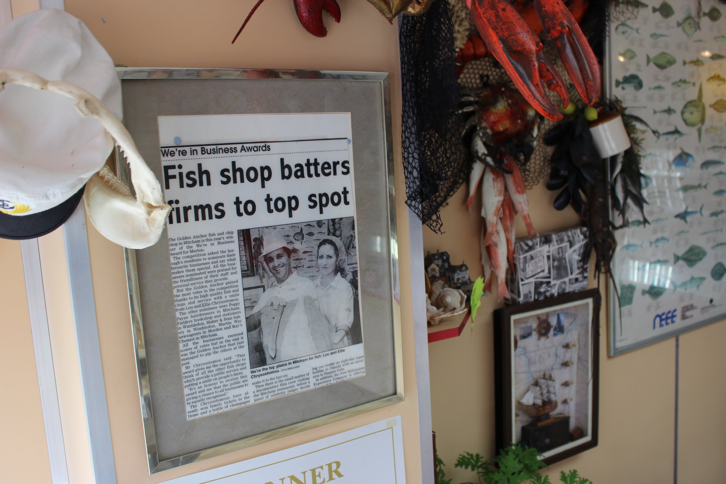 The Golden Anchor Fish & Chip Shop in Mitcham South West London Club Card 9.jpg