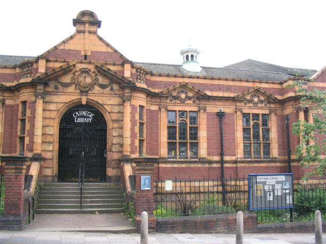 carnegie library herne hill south london club