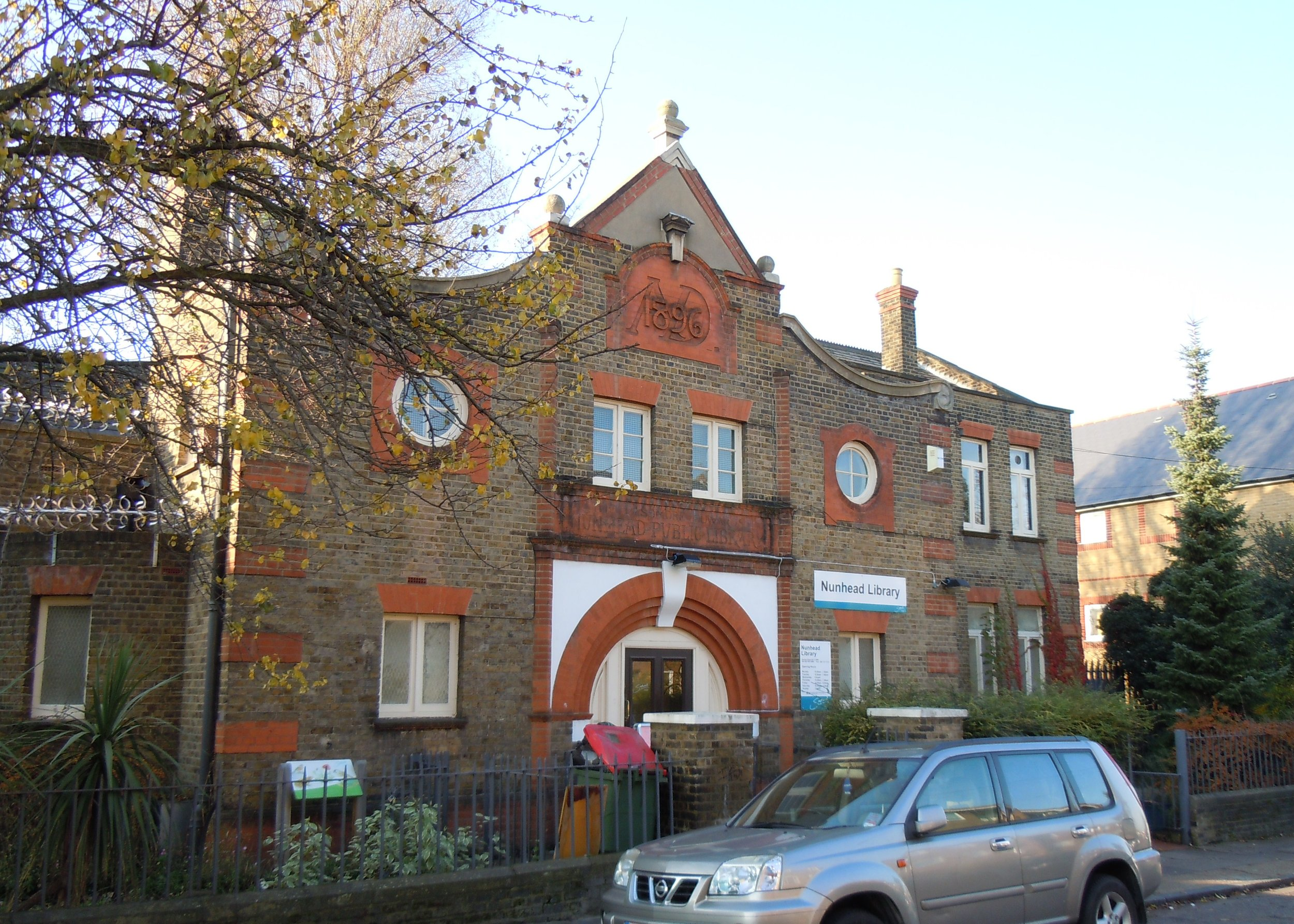 nunhead library south london club