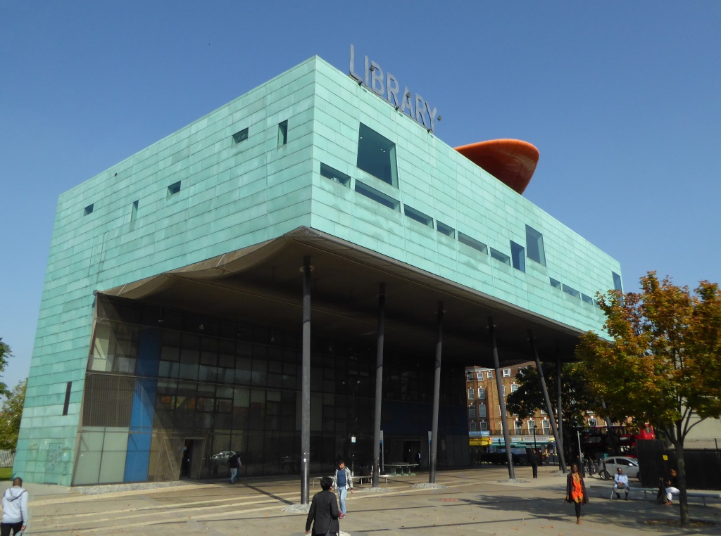 peckham library south london club