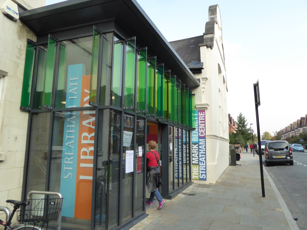 tate streatham library south london club