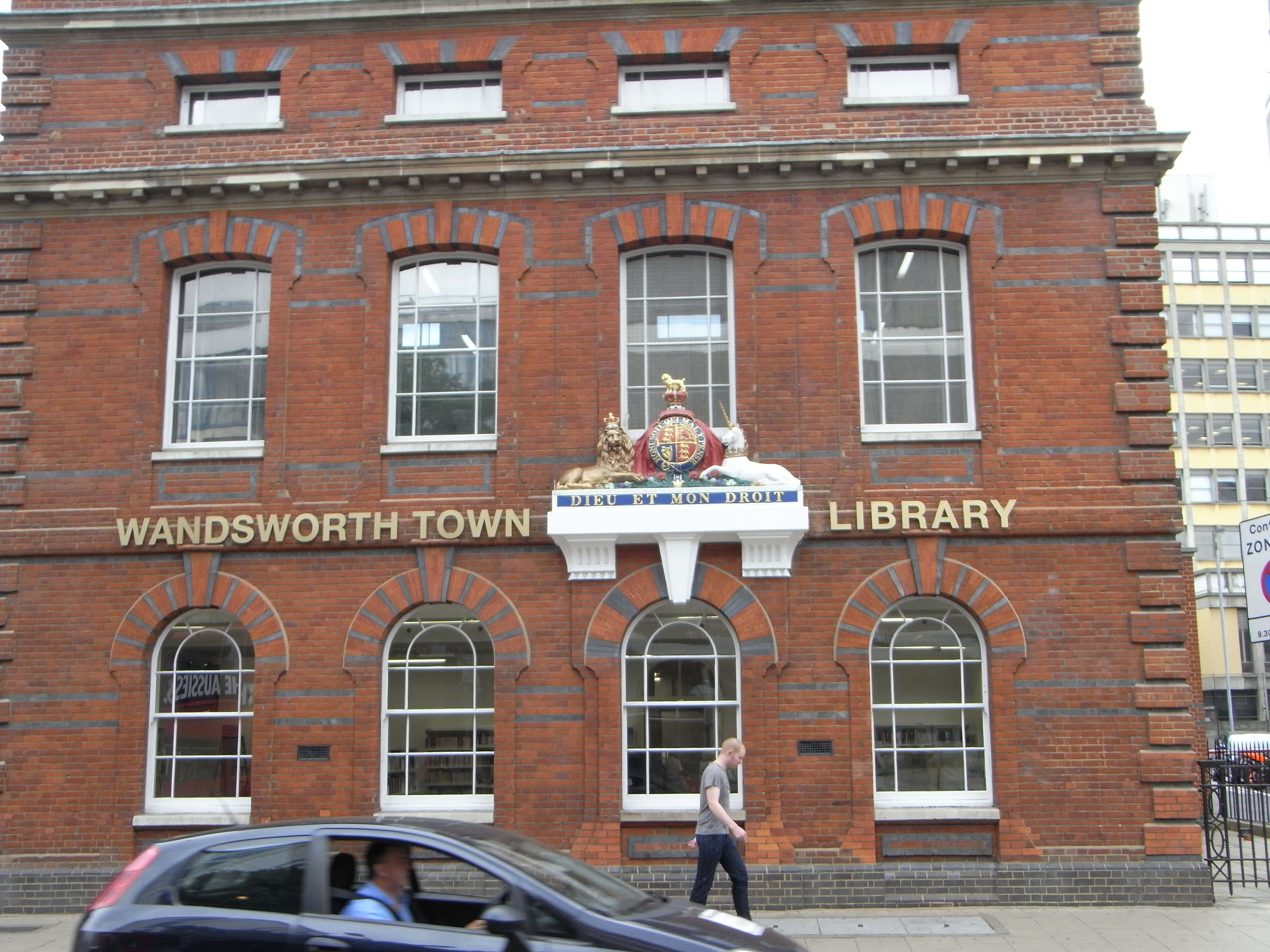 wandsworth library south london club