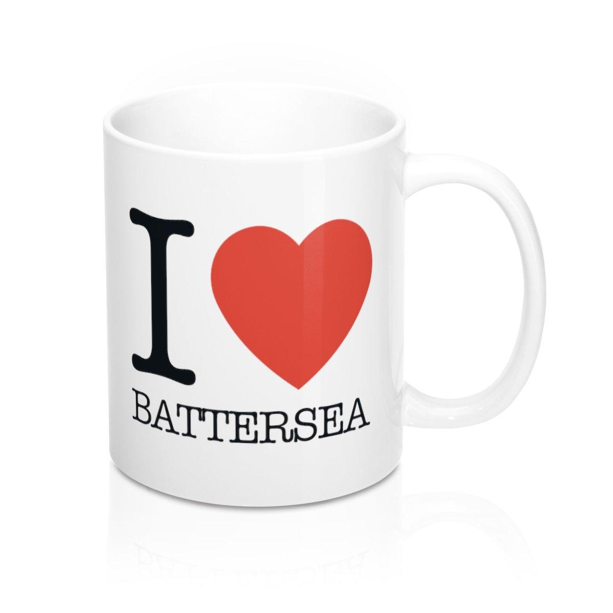 I Heart Batterea Mug -