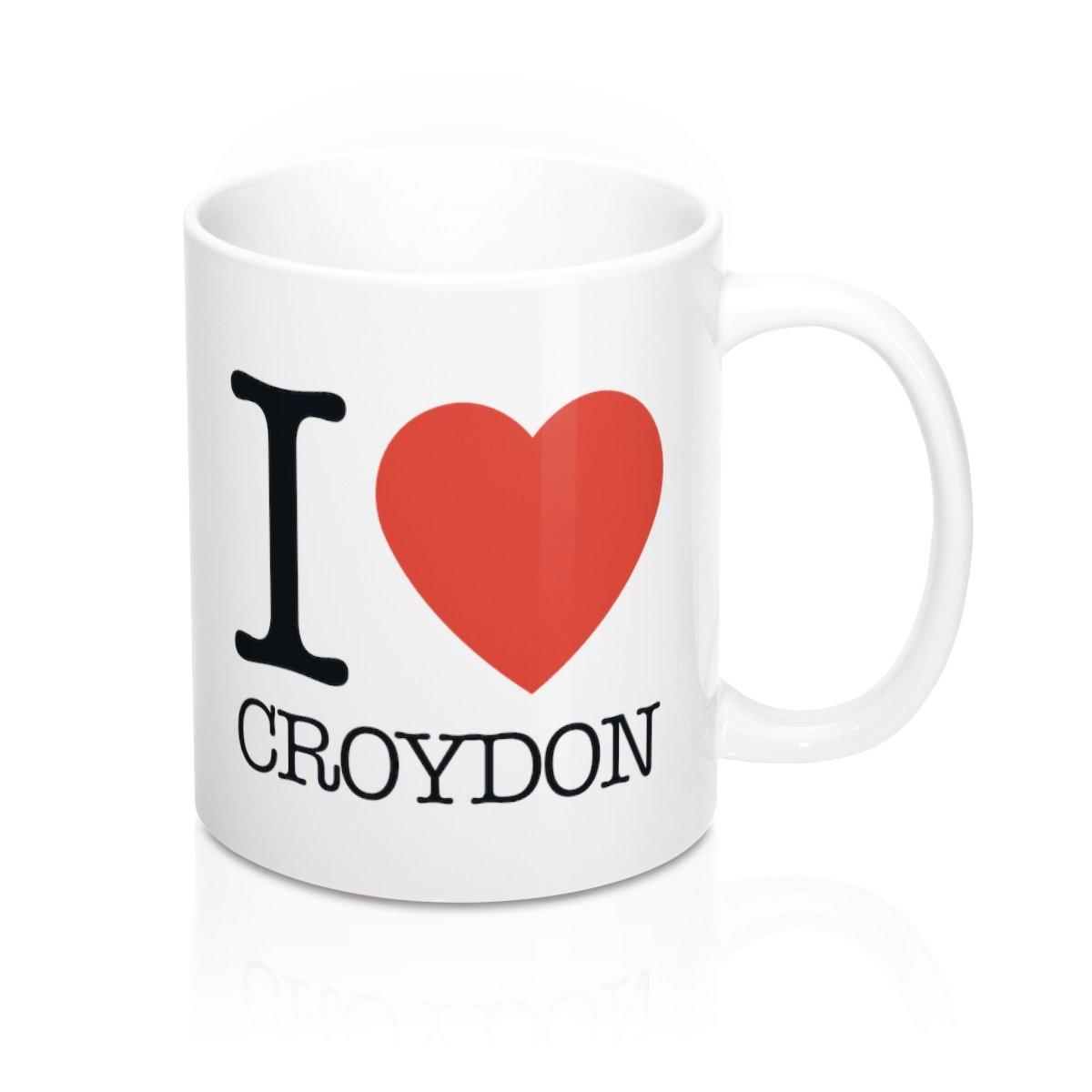 I Heart Croydon Mug -