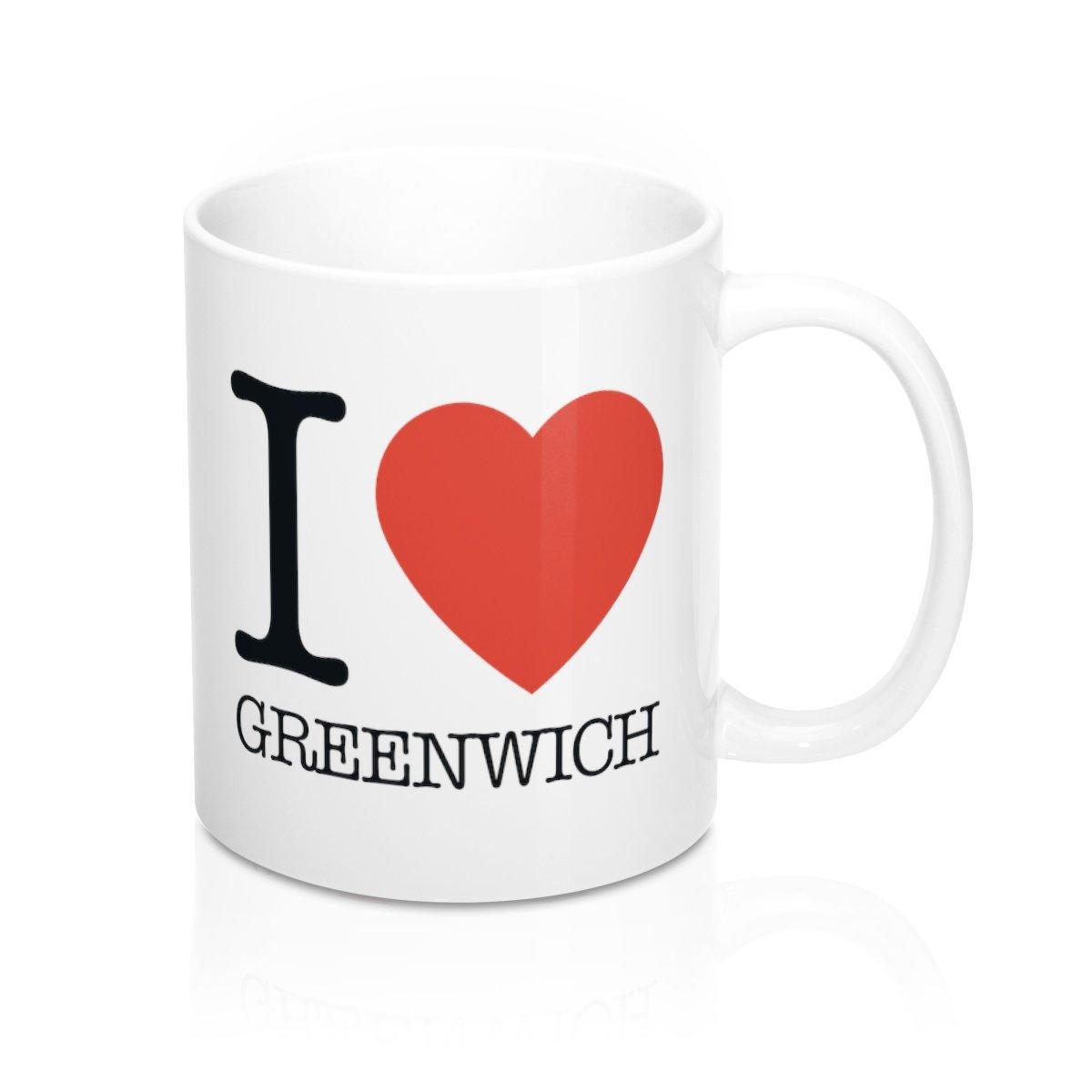 I Heart Greenwich Mug -