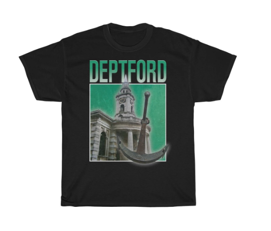 Deptford 90s Style Unisex T-Shirt -