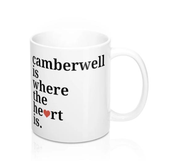 Camberwell Is Where The Heart Is Mug -