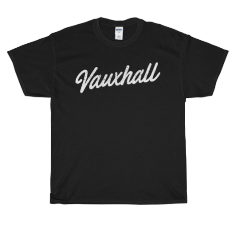 Vauxhall Scripted T-Shirt -