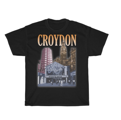 Croydon 90s Style Unisex T-Shirt -