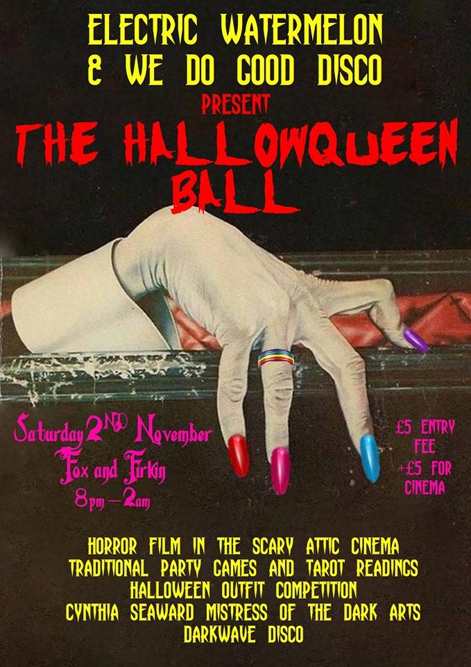 hallowqueen ball south london club