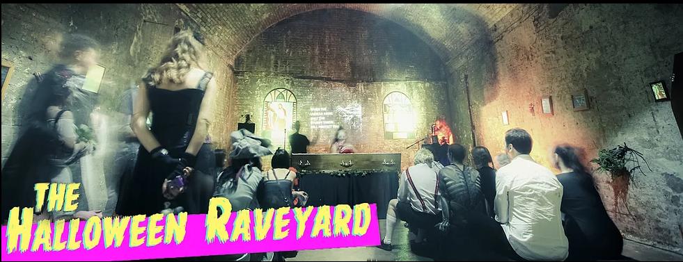 the vaults halloween raveyard south london club