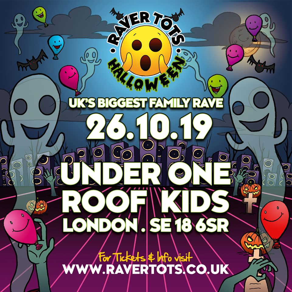 under 1 roof kids halloween south london club