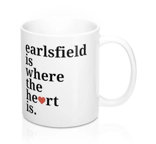 Earlsfield Is Where The Heart Is Mug -