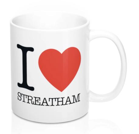 I Heart Streatham Mug -
