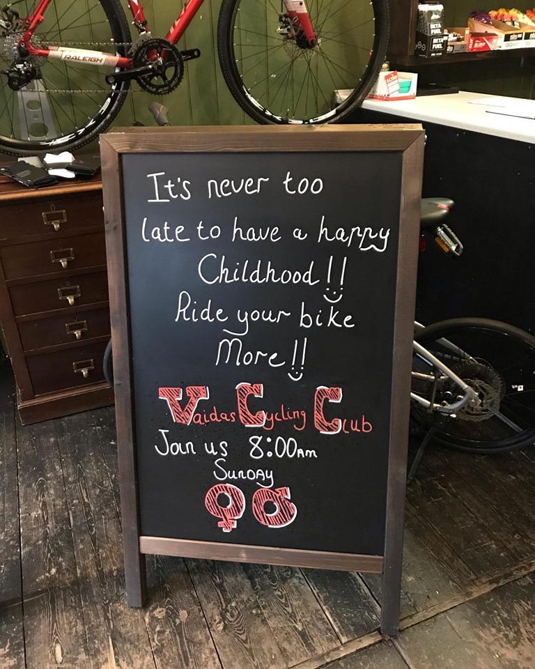 vaidas bicycles south london club