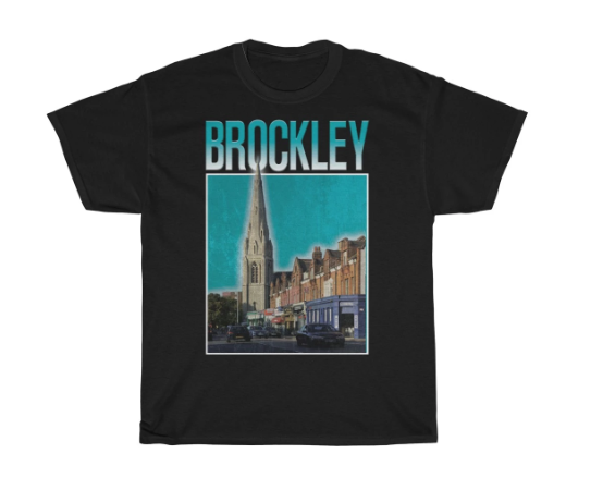 Brockley 90s Style Unisex T-Shirt -
