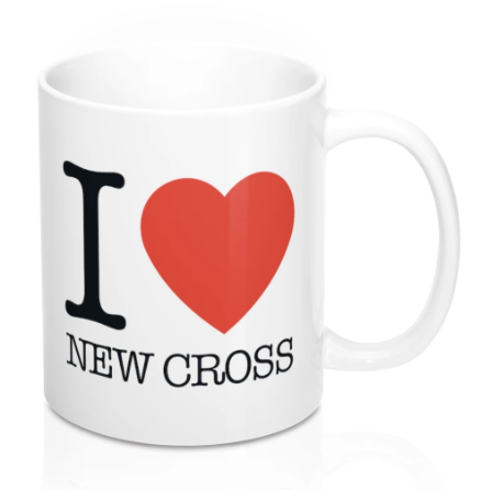 I Heart New Cross Mug -
