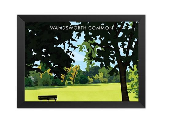 Wandsworth Common SW18 - Giclée Art Print -
