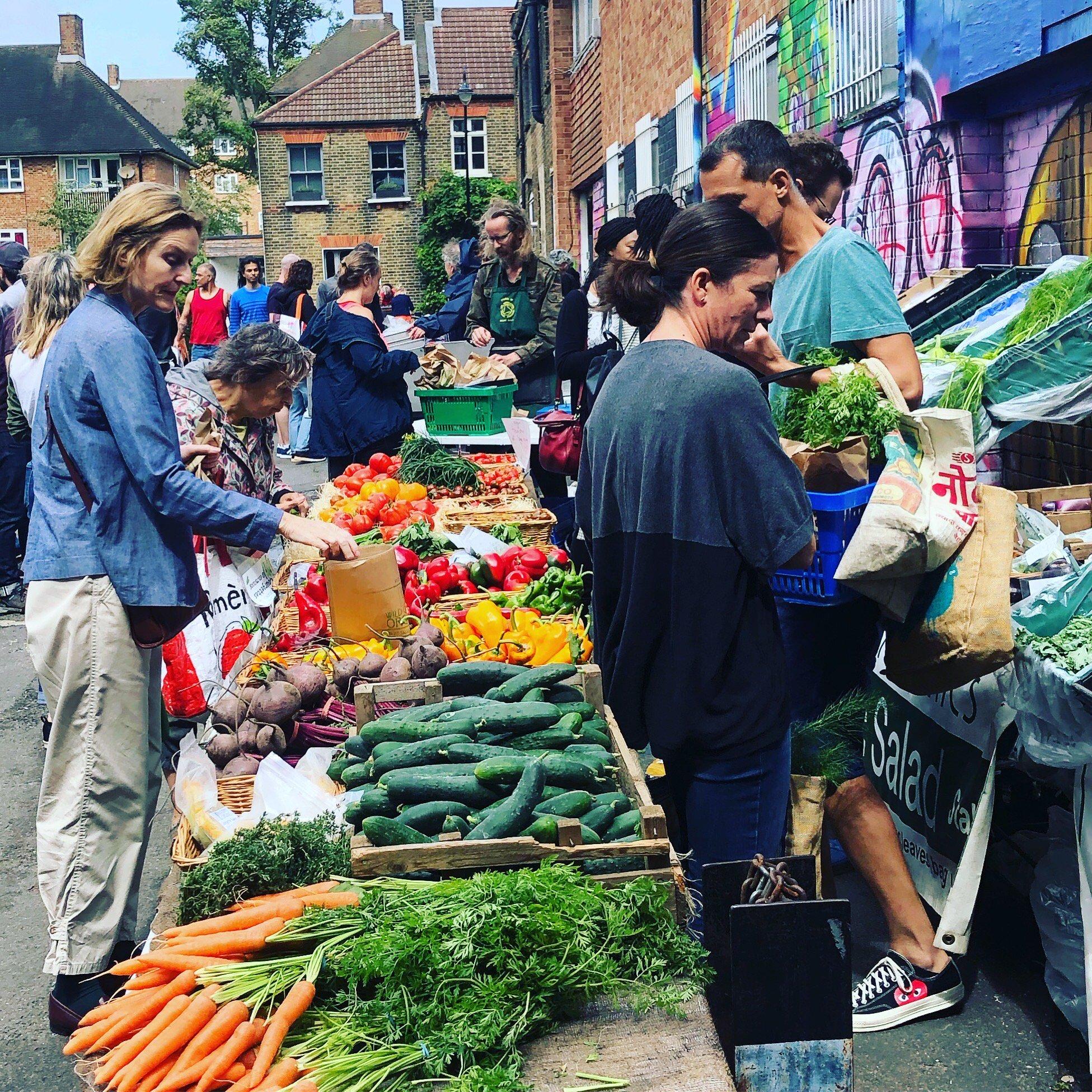 CP food market south london club