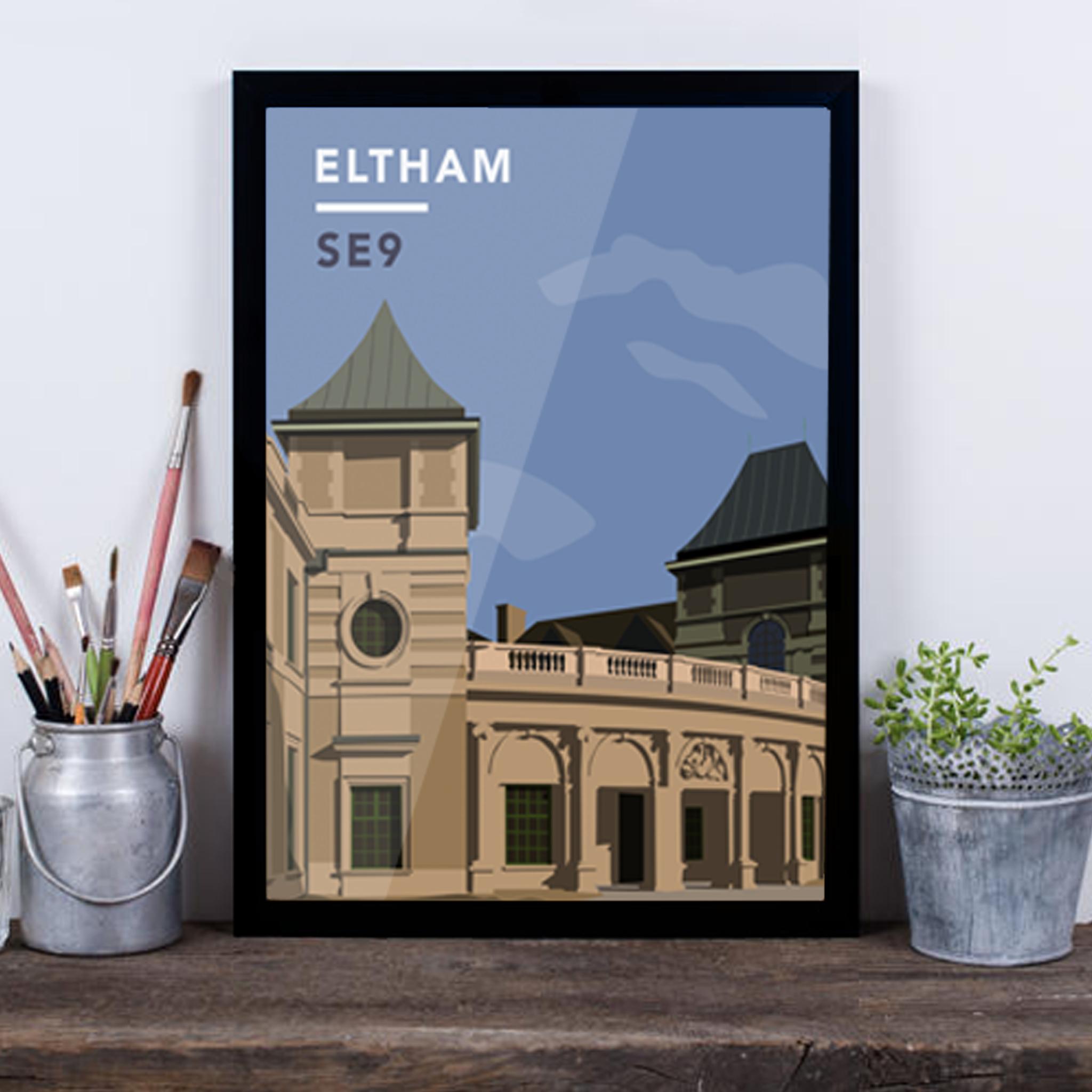 Eltham Palace SE9 - Giclée Art Print -