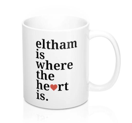 Eltham is Where The Heart Is Mug -