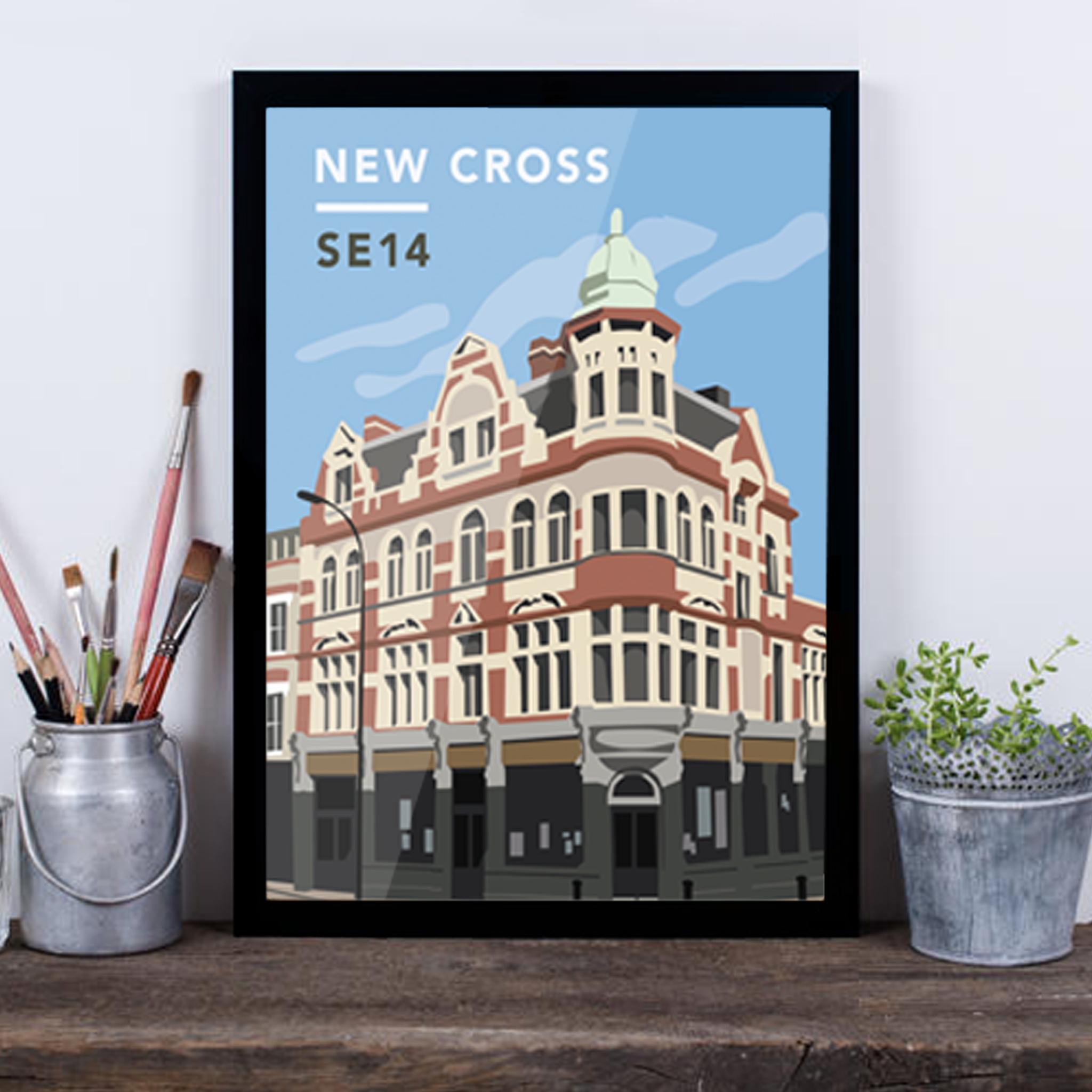 New Cross SE14 - Giclée Art Print -