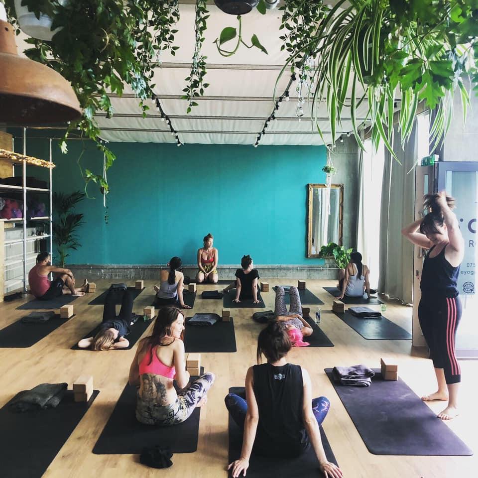 the yoga room south london club