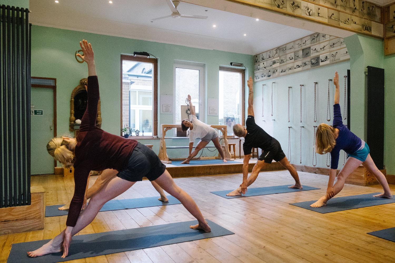 Iyengar yoga south london club