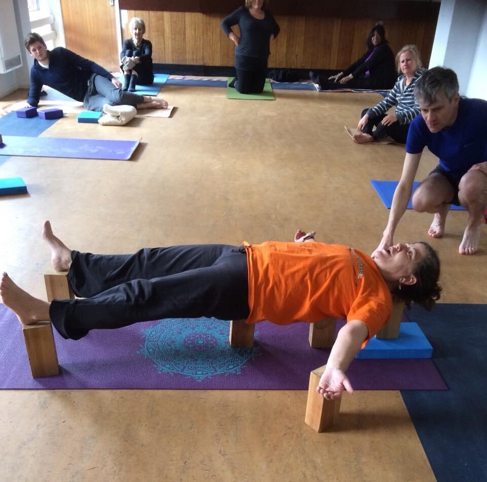 telegraph hill yoga south london club