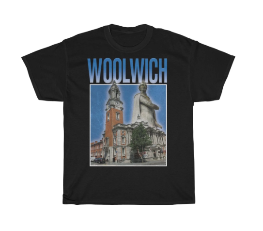 Woolwich 90s Style Unisex T-Shirt -