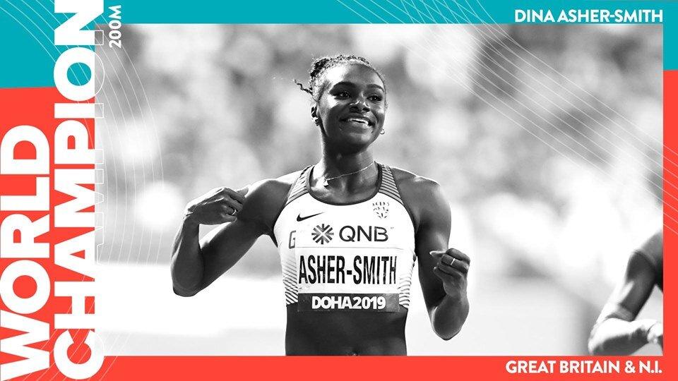 Dina Asher-Smith IAAF world athletics club south london club